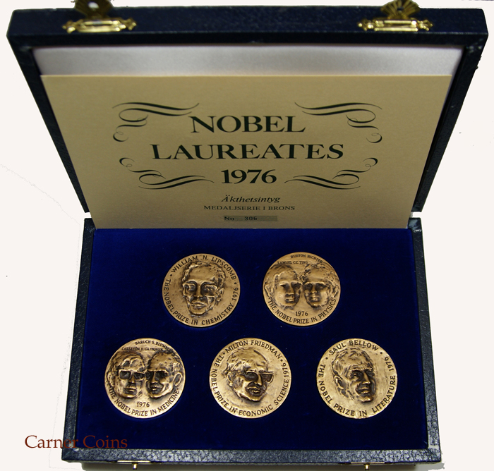 Nobel Laureates 1976 – Bronze