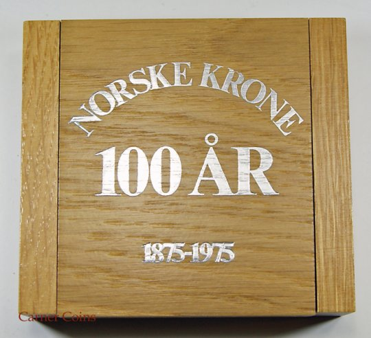 Norwegian Krone for 100 years – 1974